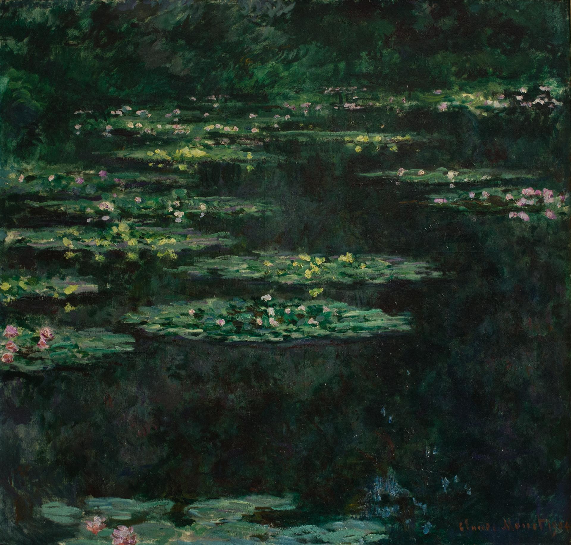 """Claude Monet, """"Les Nymphéas"""", © MuMa, David Fogel"""