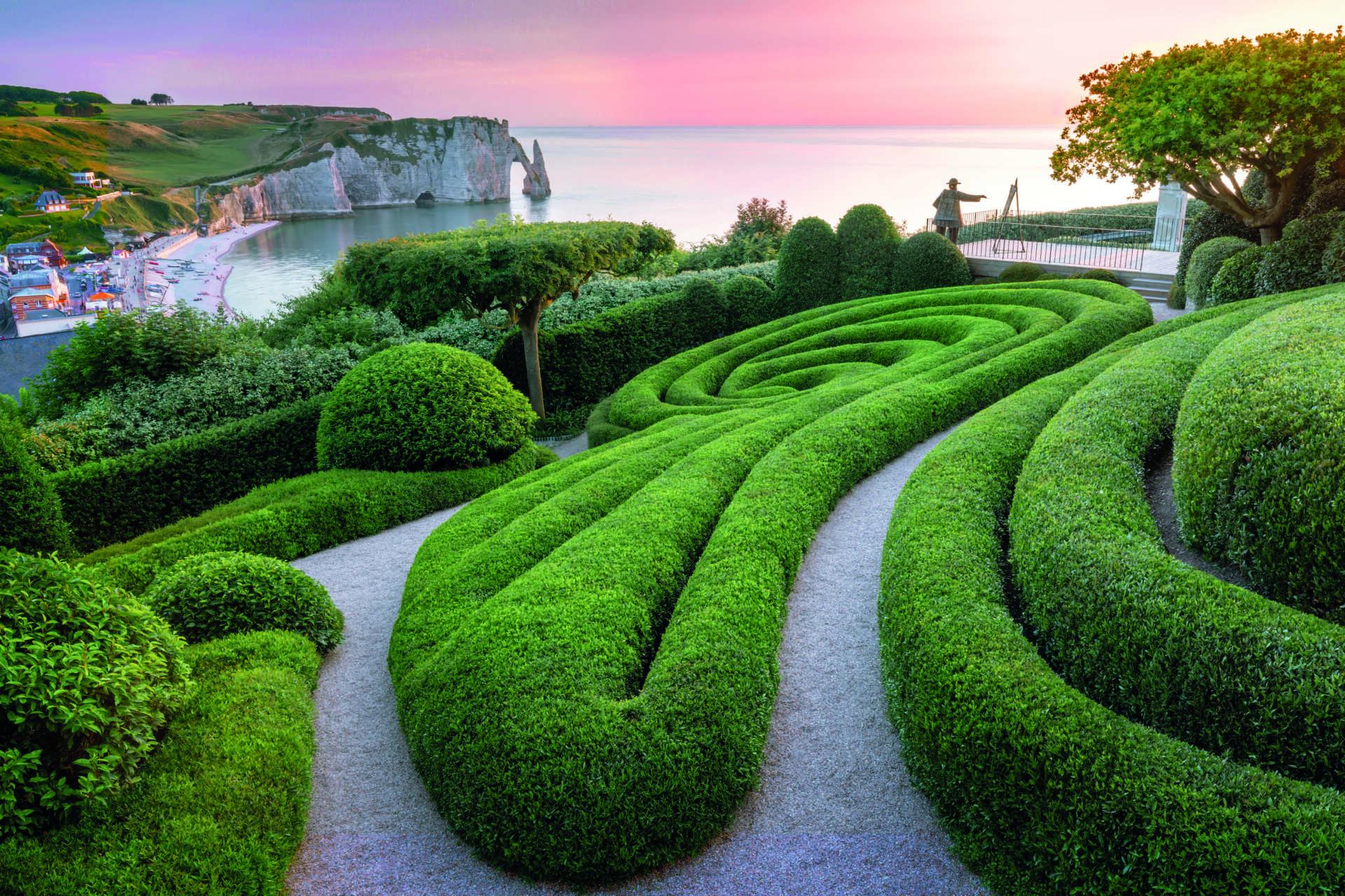 Les Jardins d'Étretat - Clin d'Œil à Claude Monet © Les Jardins d'Étretat