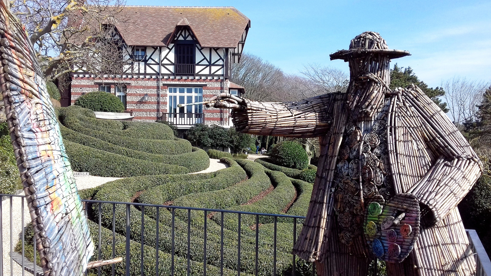 Jardins d'Étretat, hommage à Claude Monet, © Laetitia Peigner