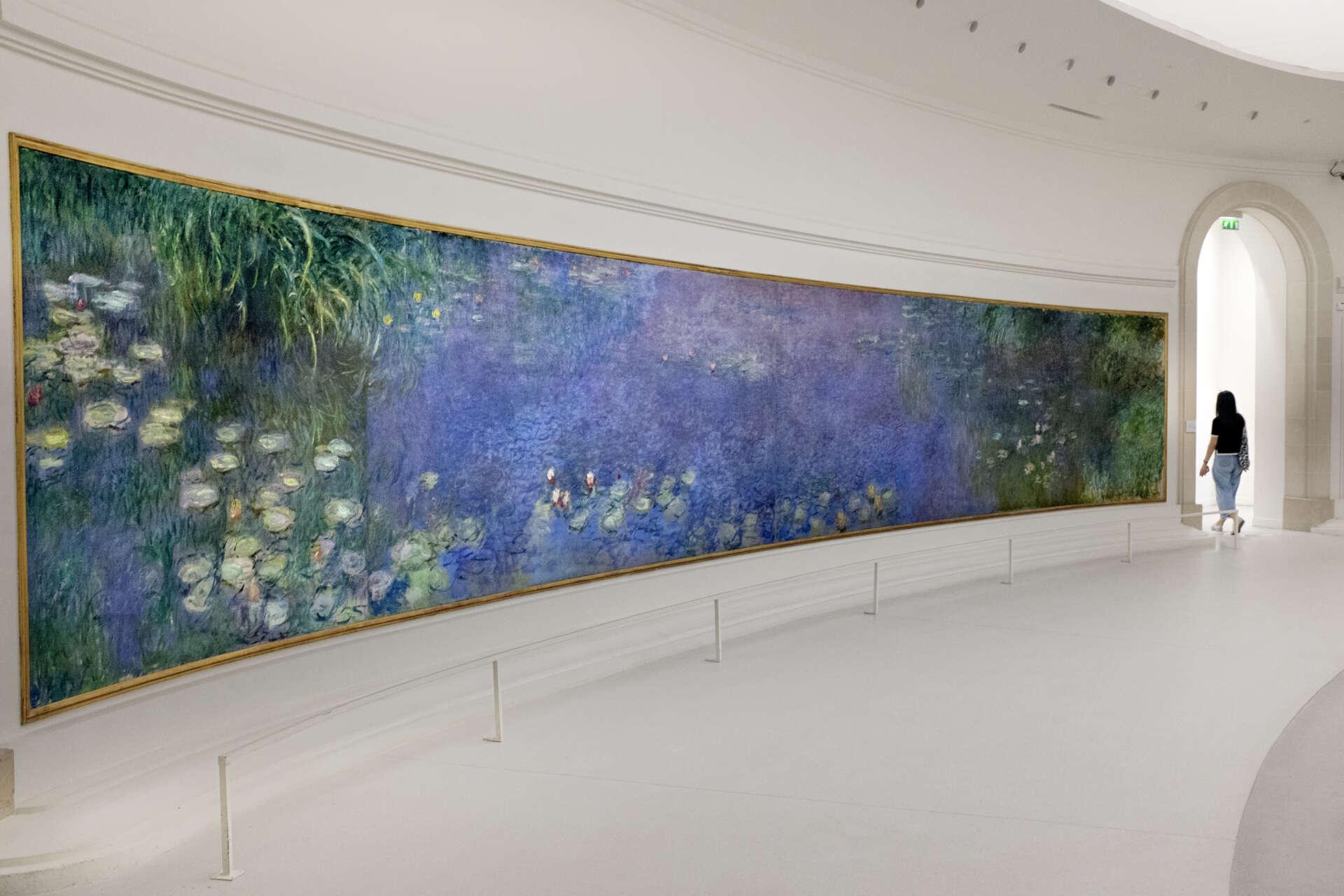 Musée de l'Orangerie, Les Nymphéas, Claude Monet, Destination impressionniste, © F. Carovillano pour Ooshot, CRT IDF