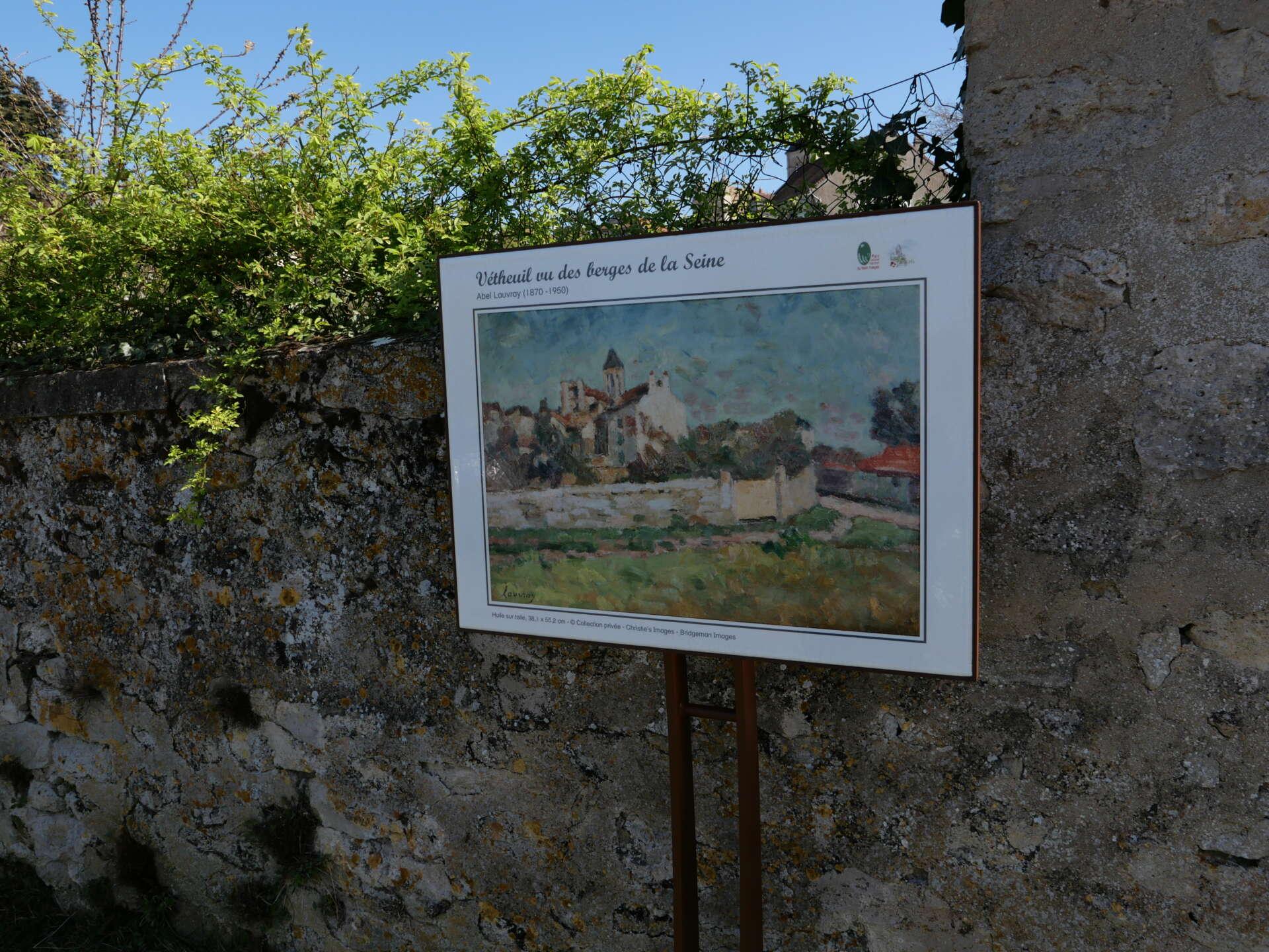 Chemin des Peintres de Vétheuil © PNR Vexin français