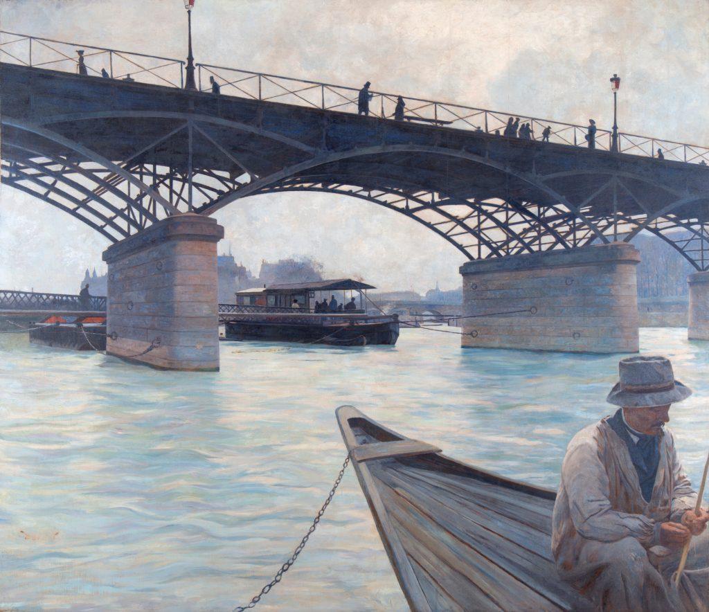 Le Pont des Arts par Victor Binet @Musée Canel