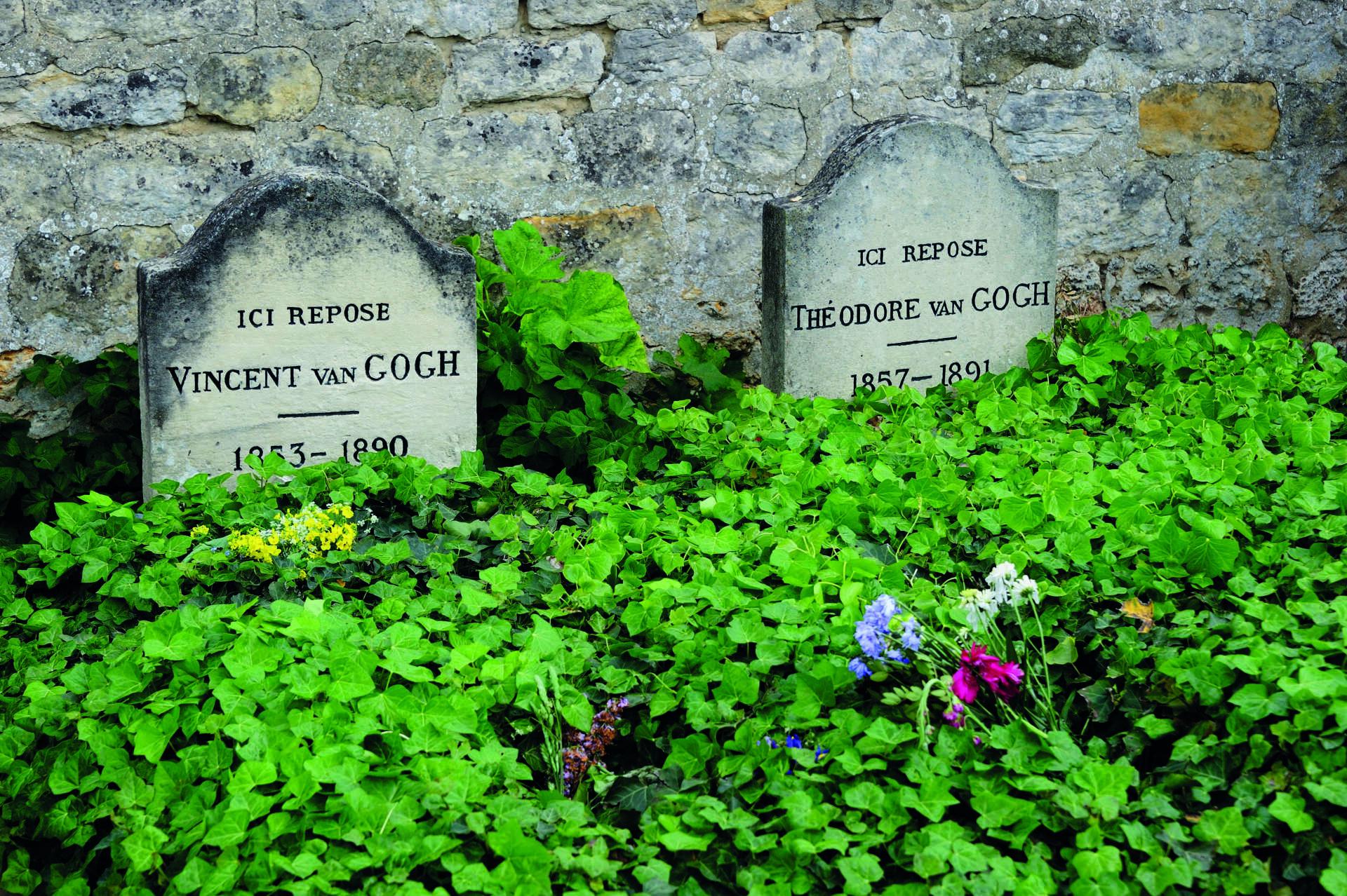 Tombes de Van Gogh à Auvers-sur-Oise