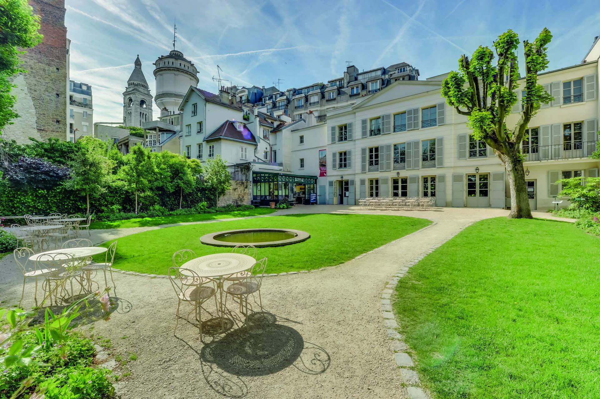 Musée de Montmartre Jardins Renoir, © Jean-Pierre Delagarde