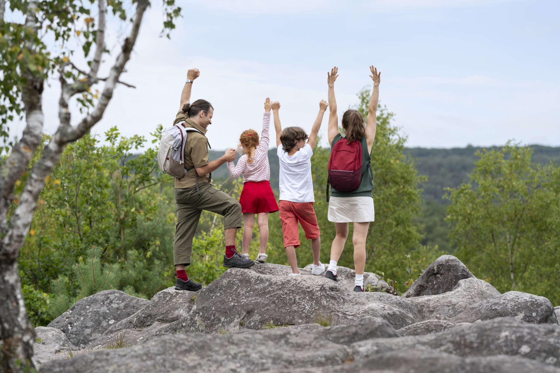 Balade famille en Pays de Fontainebleau