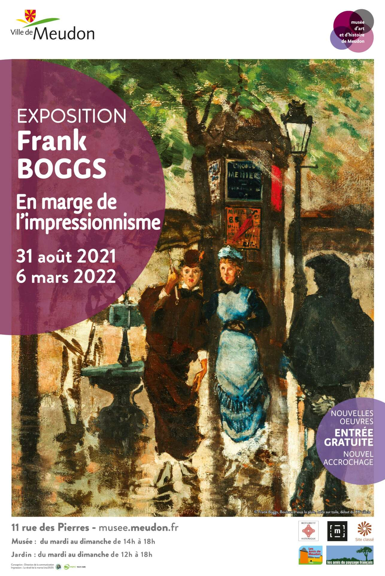 Frank Boggs au Musée de Meudon