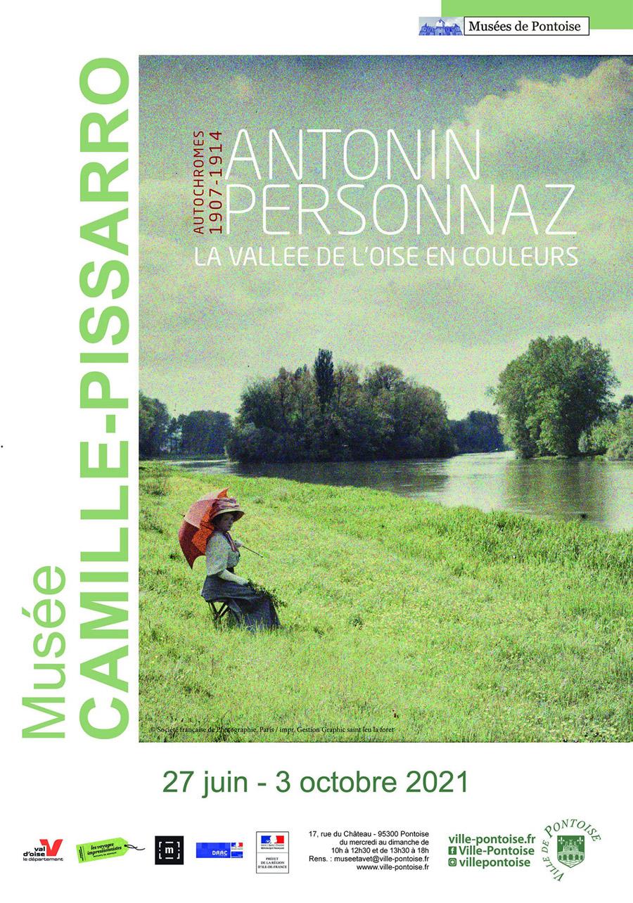 La vallée de l'Oise en couleurs, affiche de l'exposition
