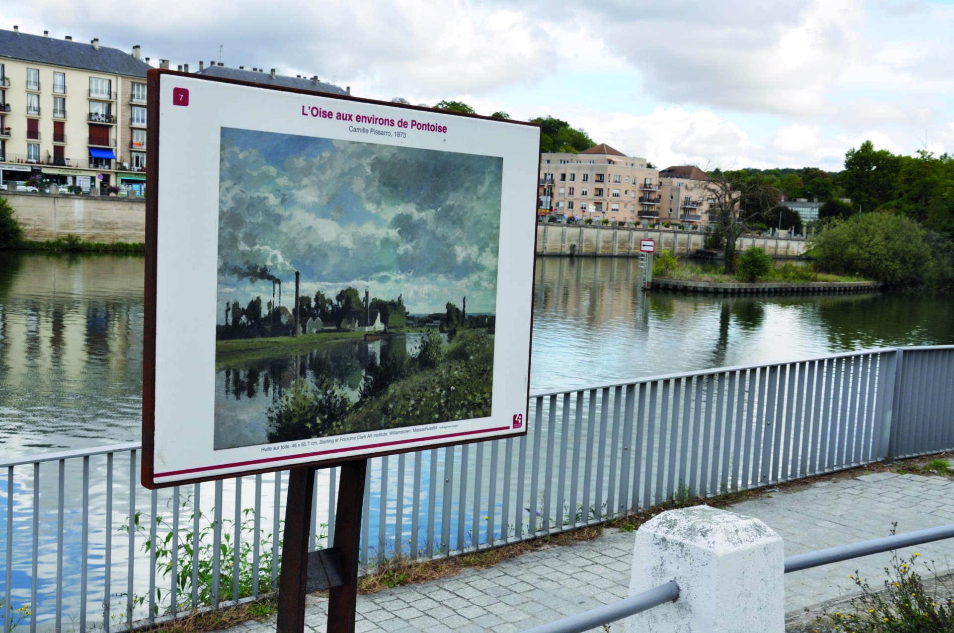 Parcours impressionniste de Saint-Ouen-l'Aumône, © Ville de Saint-Ouen l'Aumône