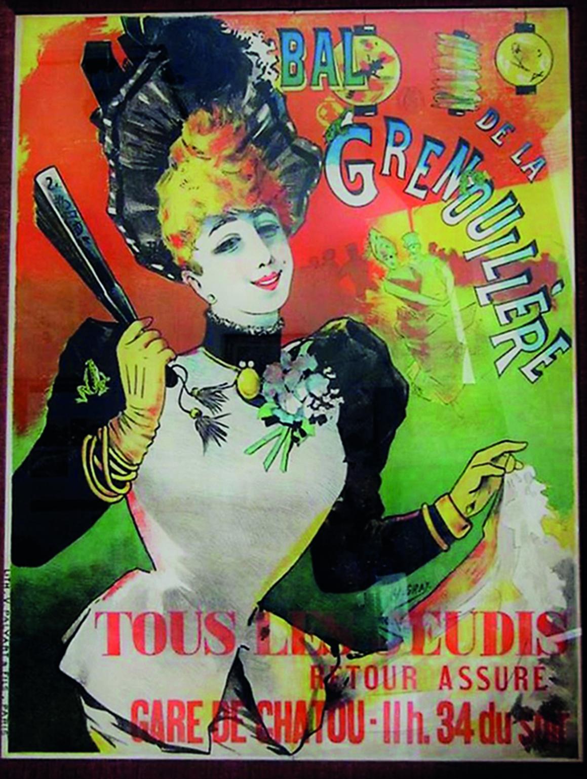 Affiche du Bal de la Grenouillère © ADG