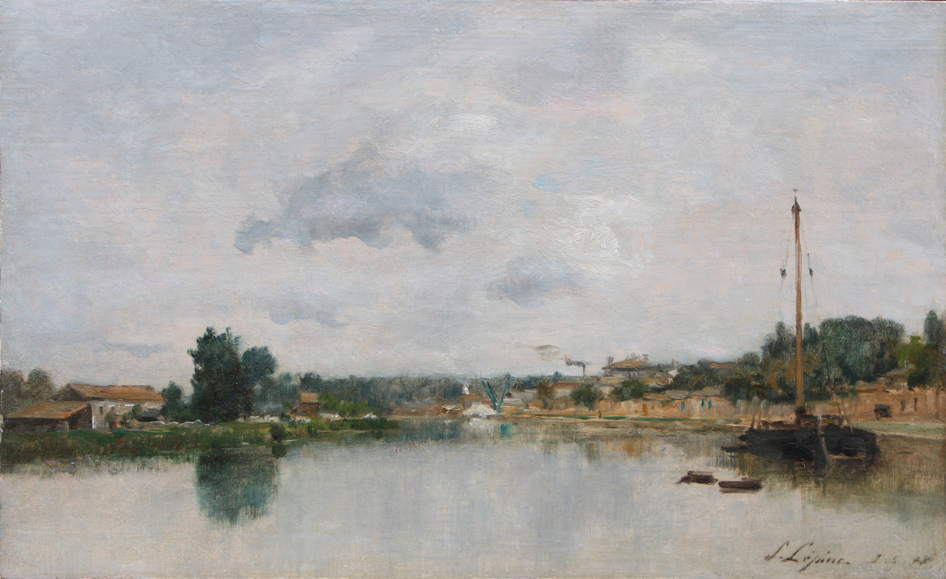 Musée d'art et d'histoire de Meudon, tableau de Lépine